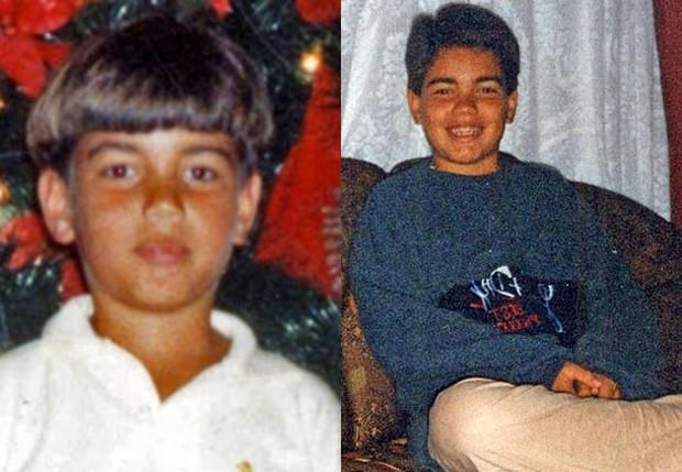 Rodrigo Alves, o Ken Humano, na infância (Foto: Arquivo pessoal)