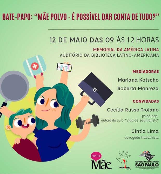 Evento Mãe Polvo (Foto: Divulgação)