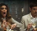 Juliana Paes e Reynaldo Gianecchini em 'A dona do pedaço' | TV Globo