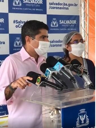 """Salvador vai ter interdição completa de alguns pontos: """"Se não funcionar, próximo passo é o lockdown"""", diz prefeito"""
