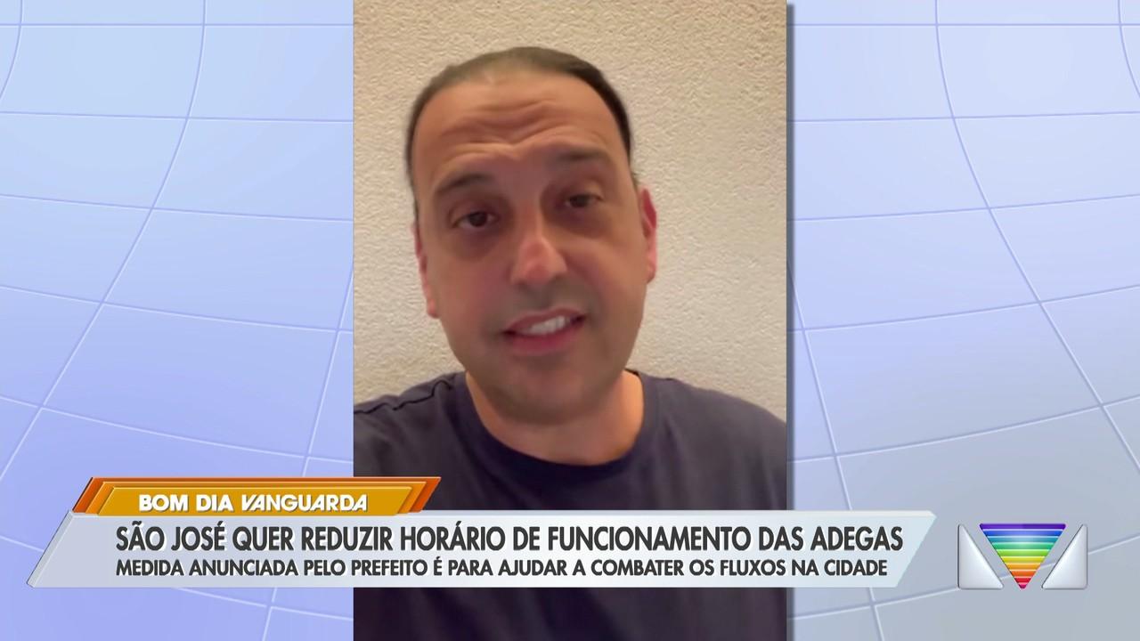 São José quer reduzir horário de funcionamento das adegas