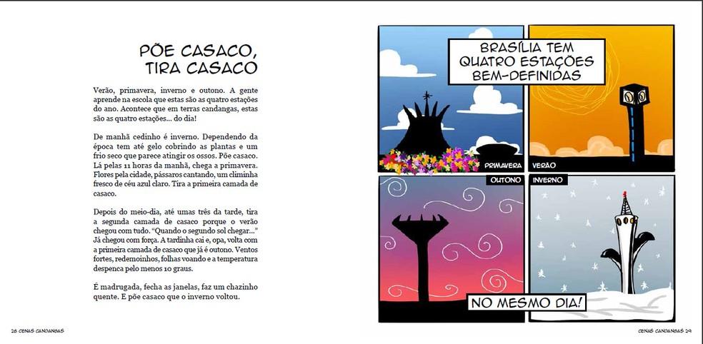 Ilustração do livro 'Cenas Candangas' — Foto: Daniel Zukko/Divulgação