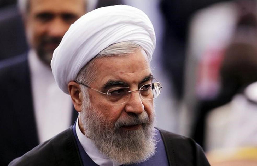 O presidente do Irã, Hassan Rouhani (Foto: Beawiharta/Reuters)