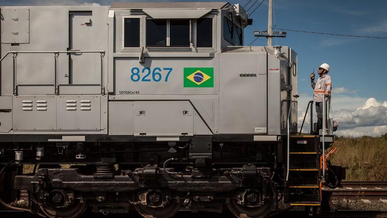 caminhos-trem-locomotiva-lateral (Foto: Marcelo Curia/Ed. Globo)