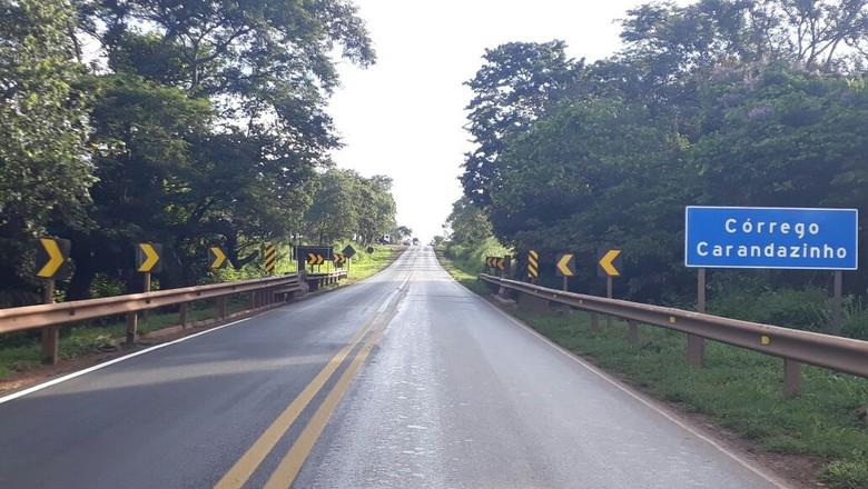 BR 364-rodovia-estrada-ponte-mt (Foto: Divulgação/Rota do Oeste)