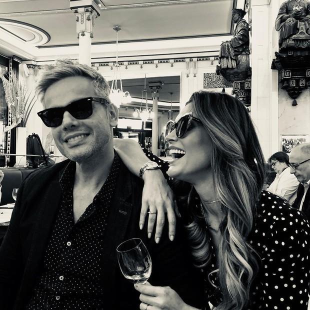 Otaviano Costa e Flávia Alessandra (Foto: Reprodução/Instagram)