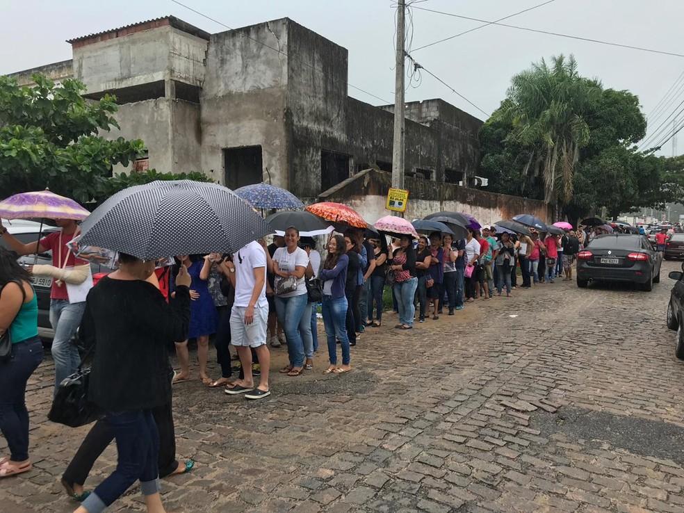 Prazo para regularizar o título de eleitor terina nesta quarta (9) (Foto: Ítalo Di Lucena/Inter TV Cabugi)