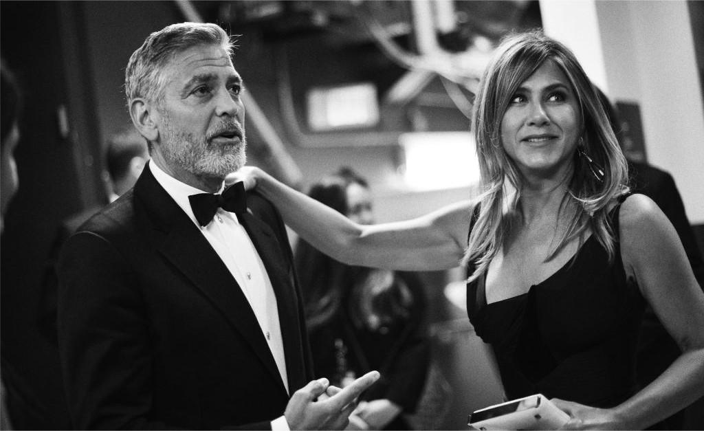 George Clooney e Jennifer Aniston (Foto: Reprodução Instagram)