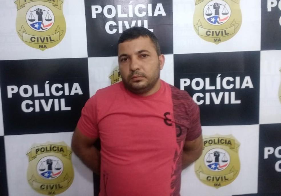 Segundo a polícia, Ricardo Duzzi também é acusado de ser o autor de vários assaltos a bancos no Piauí. — Foto: Divulgação/Polícia Civil