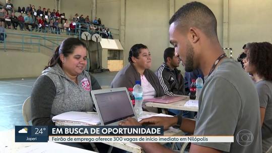 Feirão de empregos oferece 300 vagas em Nilópolis
