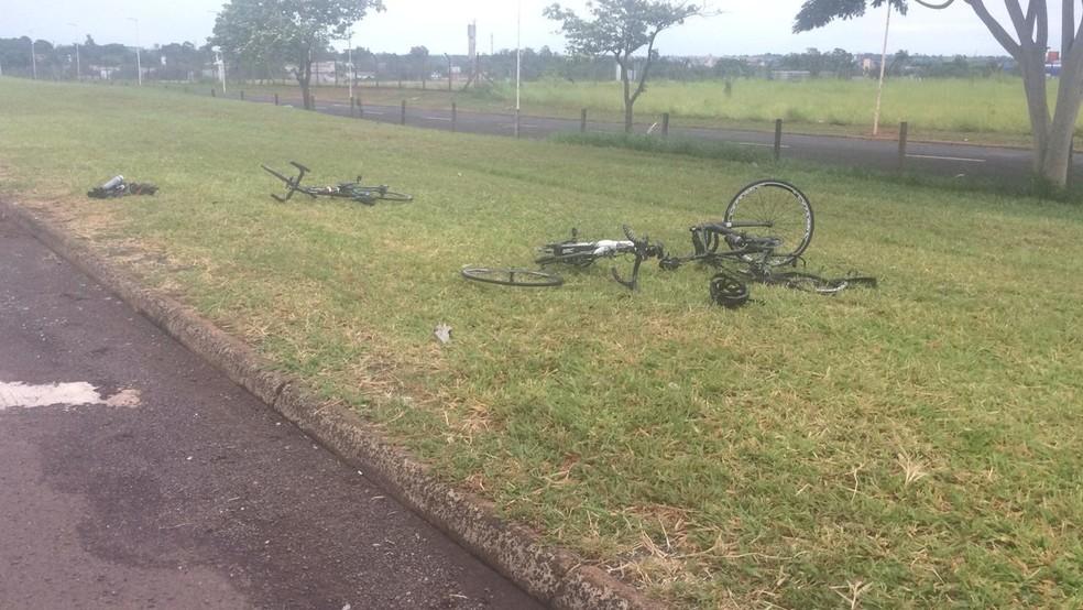 Cliclistas foram atropelados em rodovia de Rio Preto  — Foto: Arquivo Pessoal