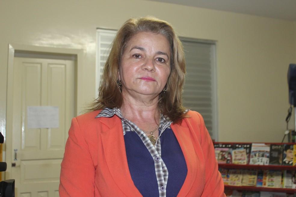 Juíza Maria Luiza de Moura Melo Freitas decidiu manter crianças em abrigo (Foto: Catarina Costa/G1)