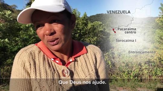 Povoado indígena entre Pacaraima e Boa Vista vira abrigo de venezuelanos: 'Eles choram ao ver comida'