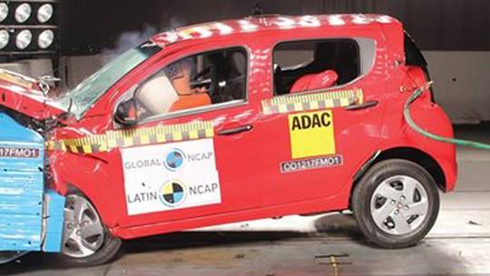 Fiat Mobi recebe 1 estrela em teste de colisão; veja vídeo