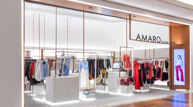 """""""Guide shop"""" da Amaro no Shopping Morumbi, em São Paulo (Foto: Divulgação)"""