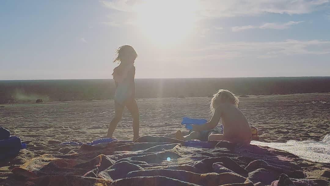 As filhas do casal, Lincoln, 5 anos, e Delta, 3 (Foto: Reprodução/Instagram)