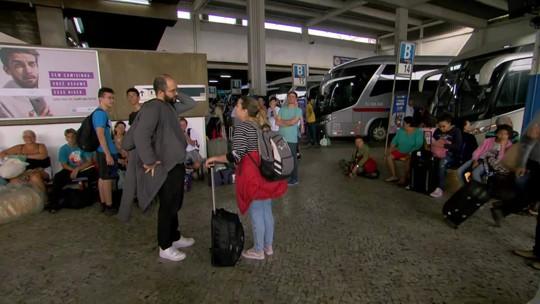 220 mil pessoas devem passar pela rodoviária do Rio