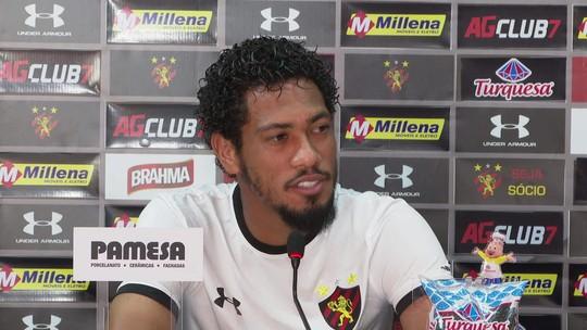 Na mira de Santos e Chape, Brocador garante foco em final pelo Sport