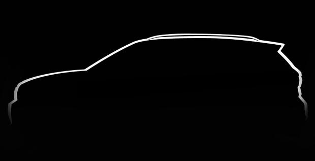 Volkswagen T-Cross é antecipado em sketch oficial (Foto: Divulgação)