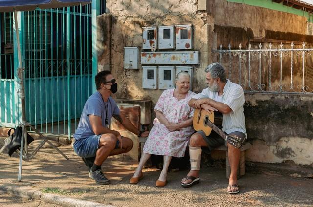 Rafael Calomeni, Suely Franco e Raymundo de Souza (Foto: Divulgação)
