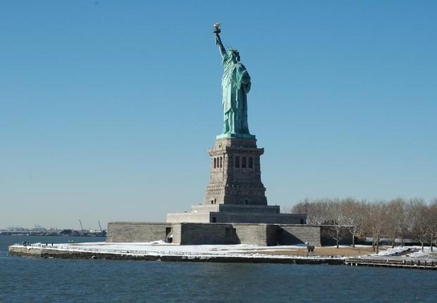 Estátua da Liberdade; Estados Unidos; eua (Foto: Wikimedia Commons)