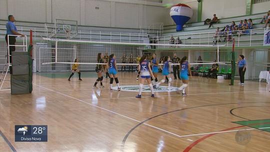 Equipes disputam o Campeonato Mineiro Sub-15 de Vôlei Feminino em Poços de Caldas