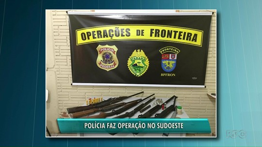 Polícia Federal e Batalhão de Fronteira fazem operação no sudoeste