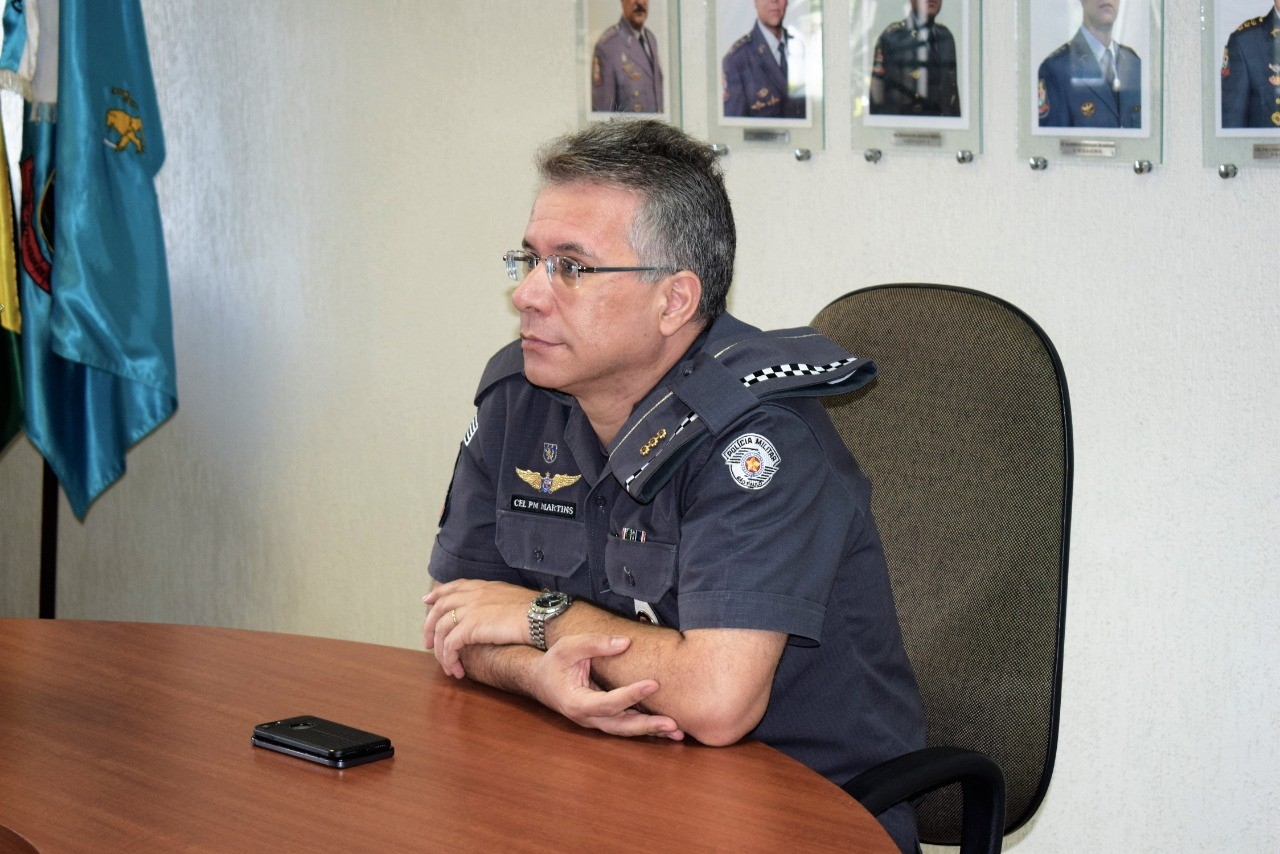 Coronel Dinael Carlos Martins assume comando da Polícia Militar no Vale