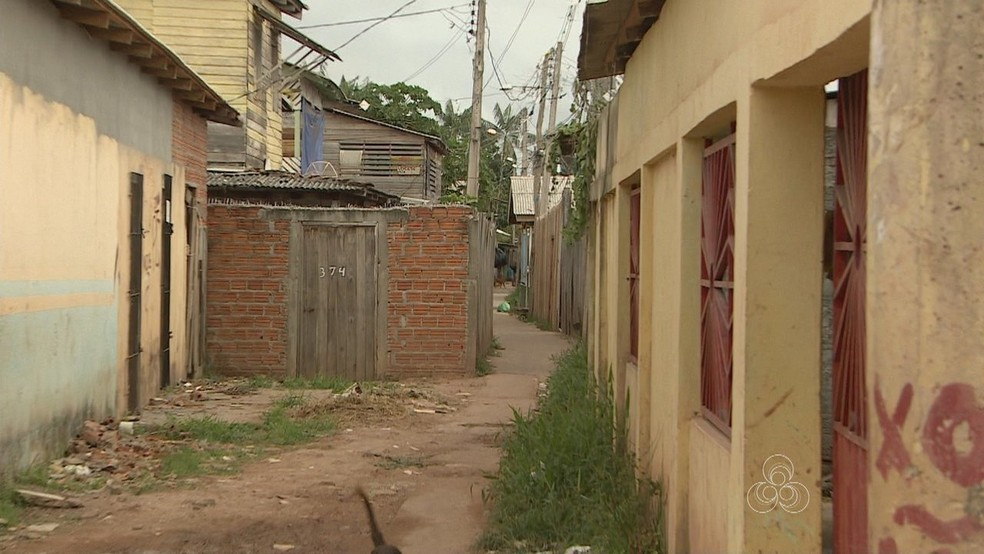 -  Crime aconteceu em área conhecida como   34;Baixada Pará  34;  Foto: Reprodução/Rede Amazônica