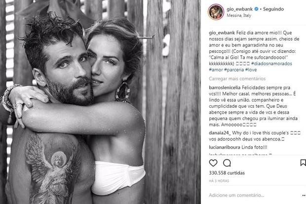 Giovanna publica foto com Bruno (Foto: Reprodução/Instagram)