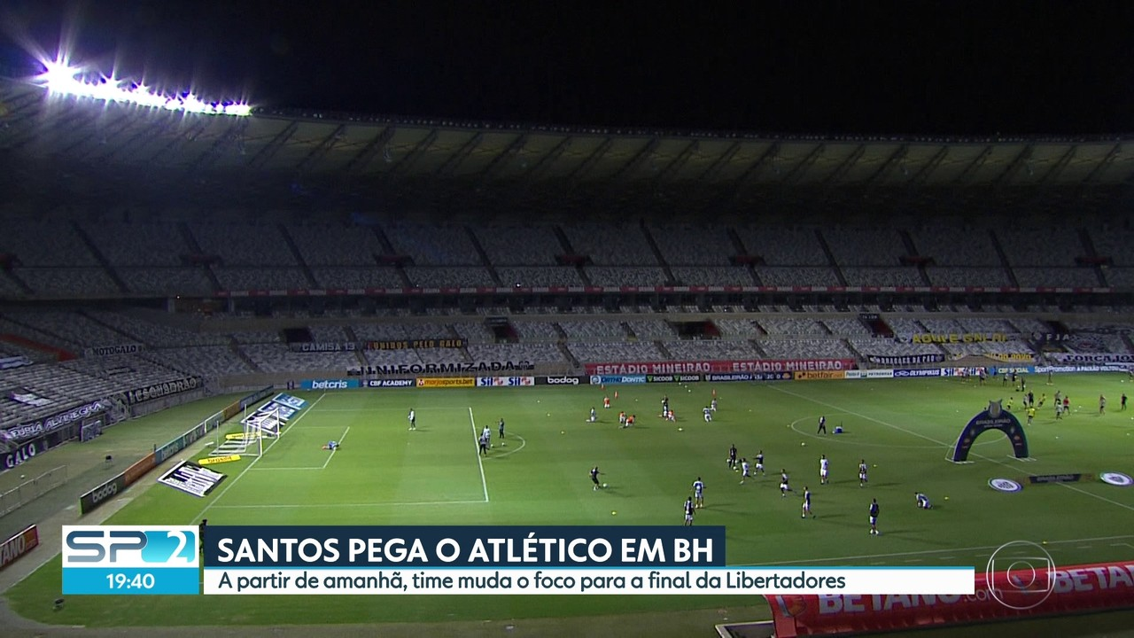 Palmeiras e Santos fazem último jogo antes da final da Libertadores