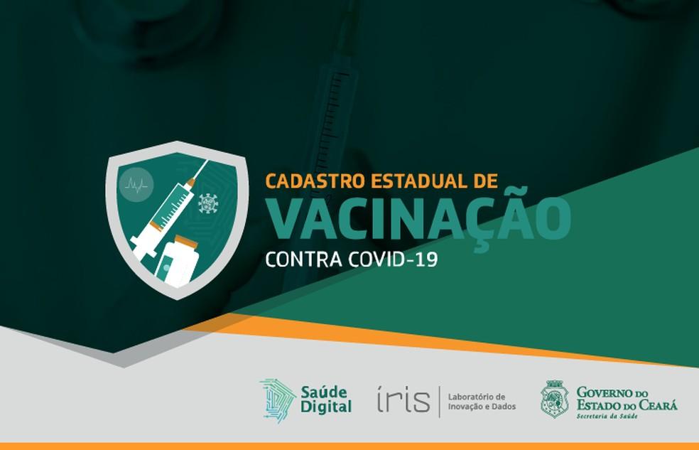 Plataforma Saúde Digital, para cadastro estadual de vacinação contra a Covid-19, passa por instabilidade e fica fora do ar. — Foto: Governo do Estado/ Divulgação