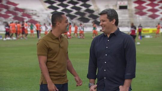Cabral Neto analisa montagem do time do Santa Cruz para Clássico das Emoções