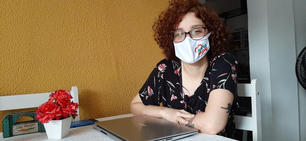 Nathália Fernandes, especialista em marketing digital  — Foto: Eliana Nascimento/G1 AM