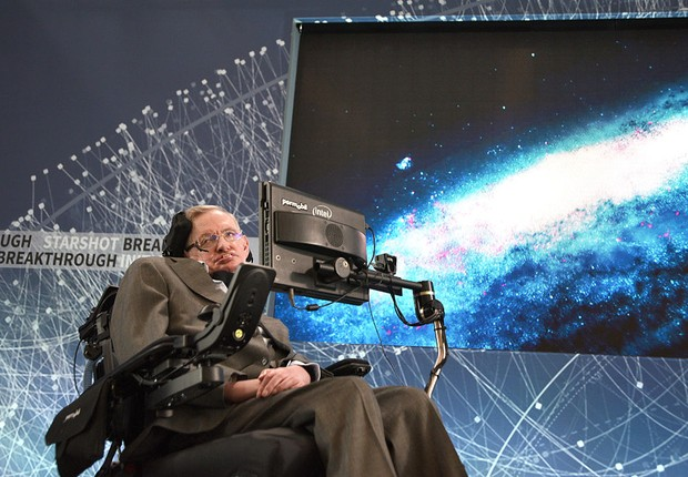 O físico Stephen Hawking (Foto: Bryan Bedder/Getty Images)