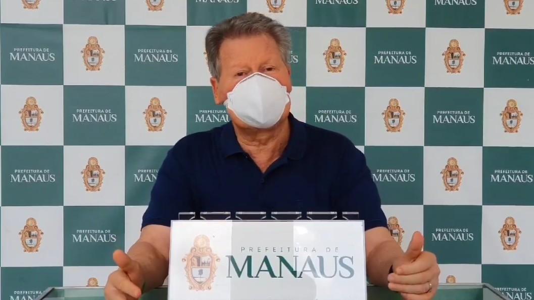 Comerciantes de Manaus que causarem aglomeração de pessoas terão alvará cassado, diz Prefeitura