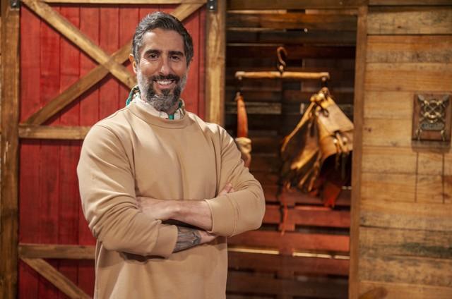 Marcos Mion, apresentador de 'A fazenda' (Foto: Edu Moraes/Record)