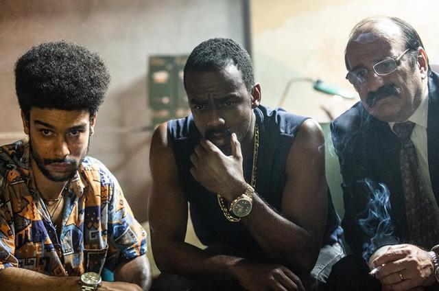 Sérgio Malheiros, Raphael Logam e Gillray Coutinho em 'Impuros' (Foto: Rachel Tanugi)