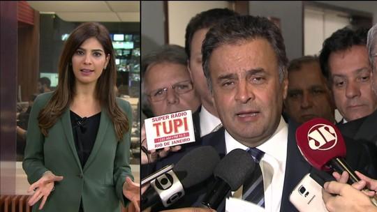 PSDB espera por licença de Aécio e já discute até expulsão do deputado