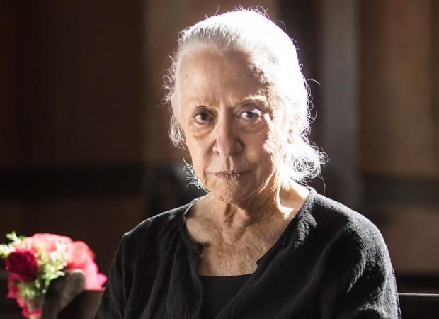 Fernanda Montenegro interpreta Dulce em A Dona do Pedaço (Foto: João Miguel Junior/TV Globo)
