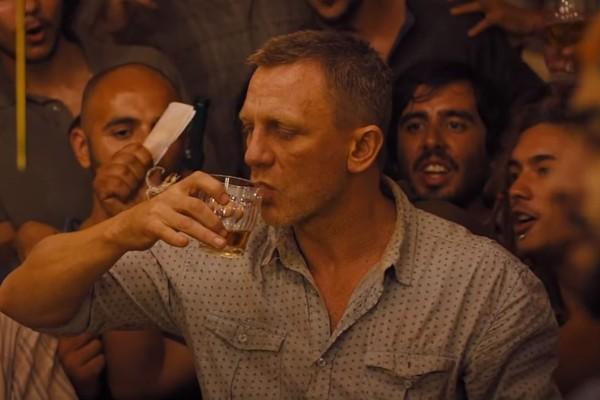 O ator Daniel Craig como o espião James Bond (Foto: Reprodução)