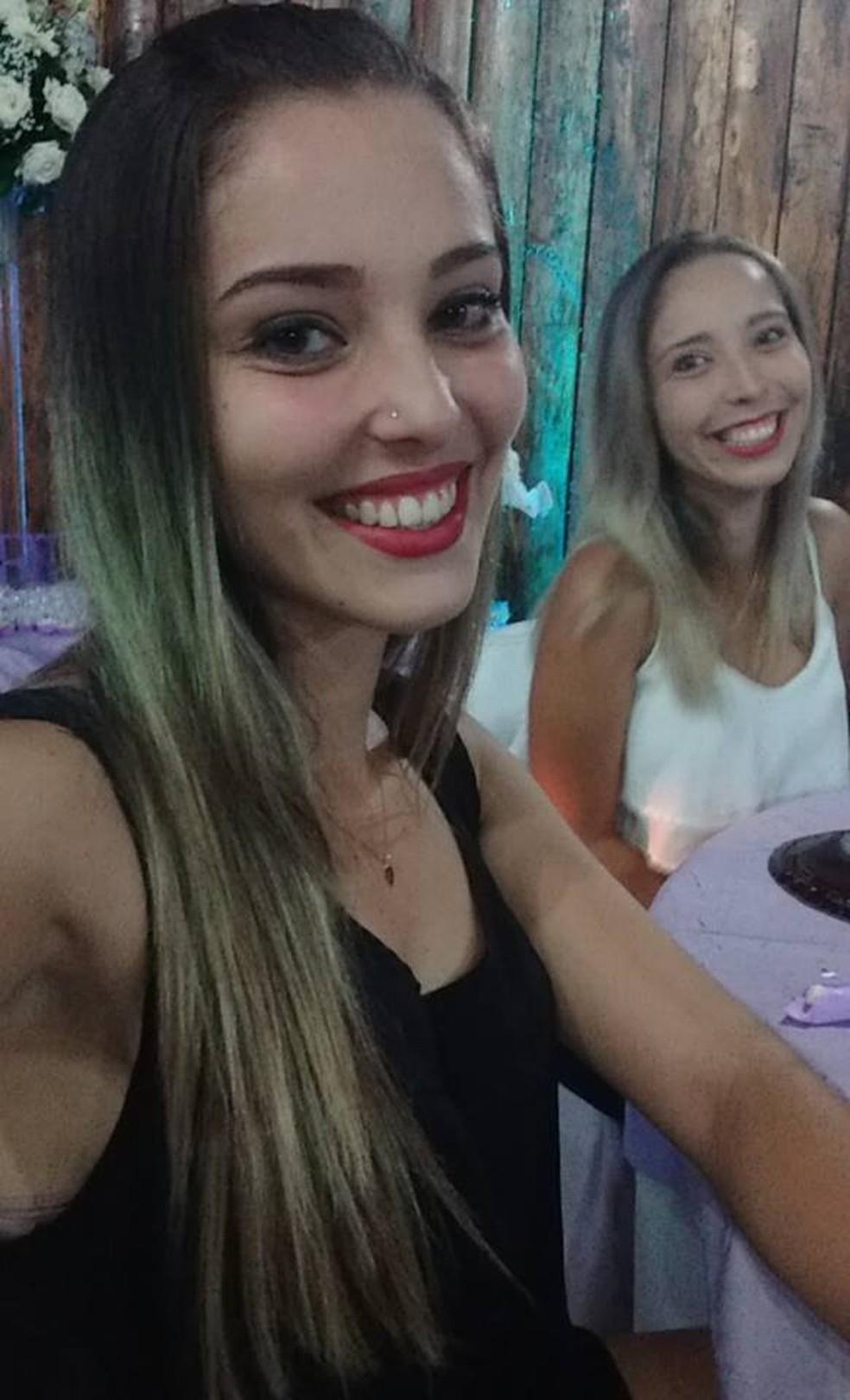 As irmãs Gabriella e Andreza — Foto: Arquivo Pessoal/Pessoal