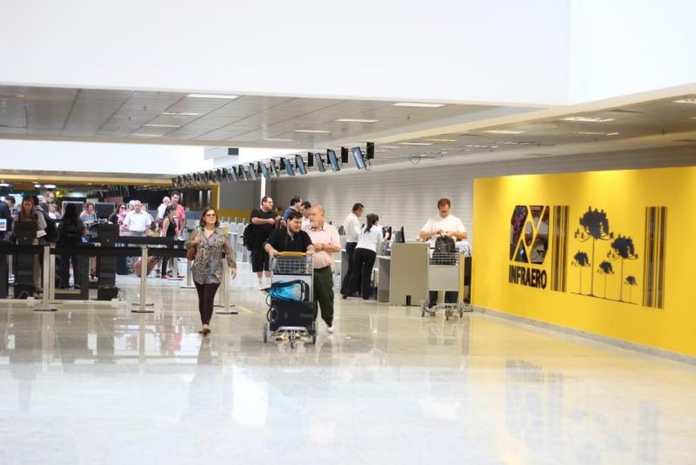 Aeroporto Afonso Pena — Foto: Divulgação/Infraero