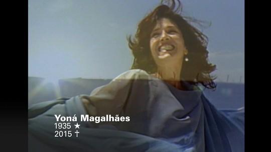 Fantástico relembra momentos da carreira de Yoná Magalhães