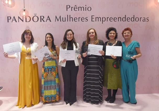 Vencedoras do prêmio Pandora Mulher Empreendedora (Foto: Divulgação)