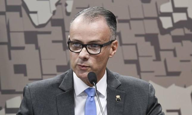 O diretor da Anvisa Antônio Barra Torres participa de sabatina no Senado