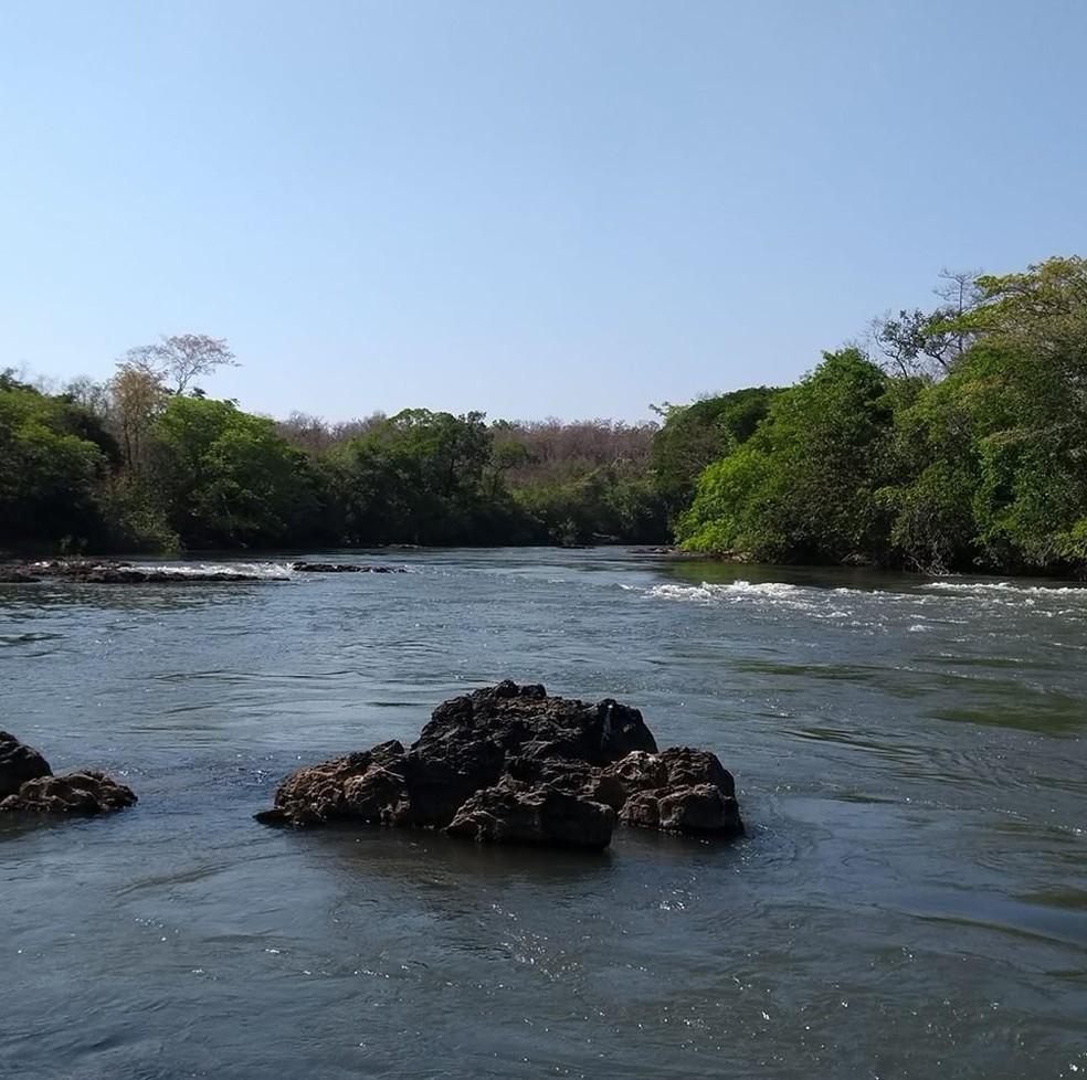 Afogamento foi registrado no Rio Culuene, em Paranatinga, a 410 km de Cuiabá — Foto: Divulgação