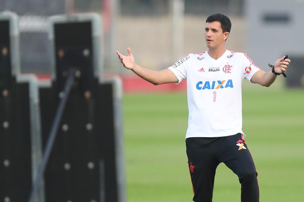 Mauricio Barbieri, técnico do Flamengo (Foto: Gilvan de Souza / Flamengo)
