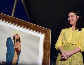 Nossa Senhora da Amazônia é a flor da vitória-régia', diz designer |  Amazonas | G1
