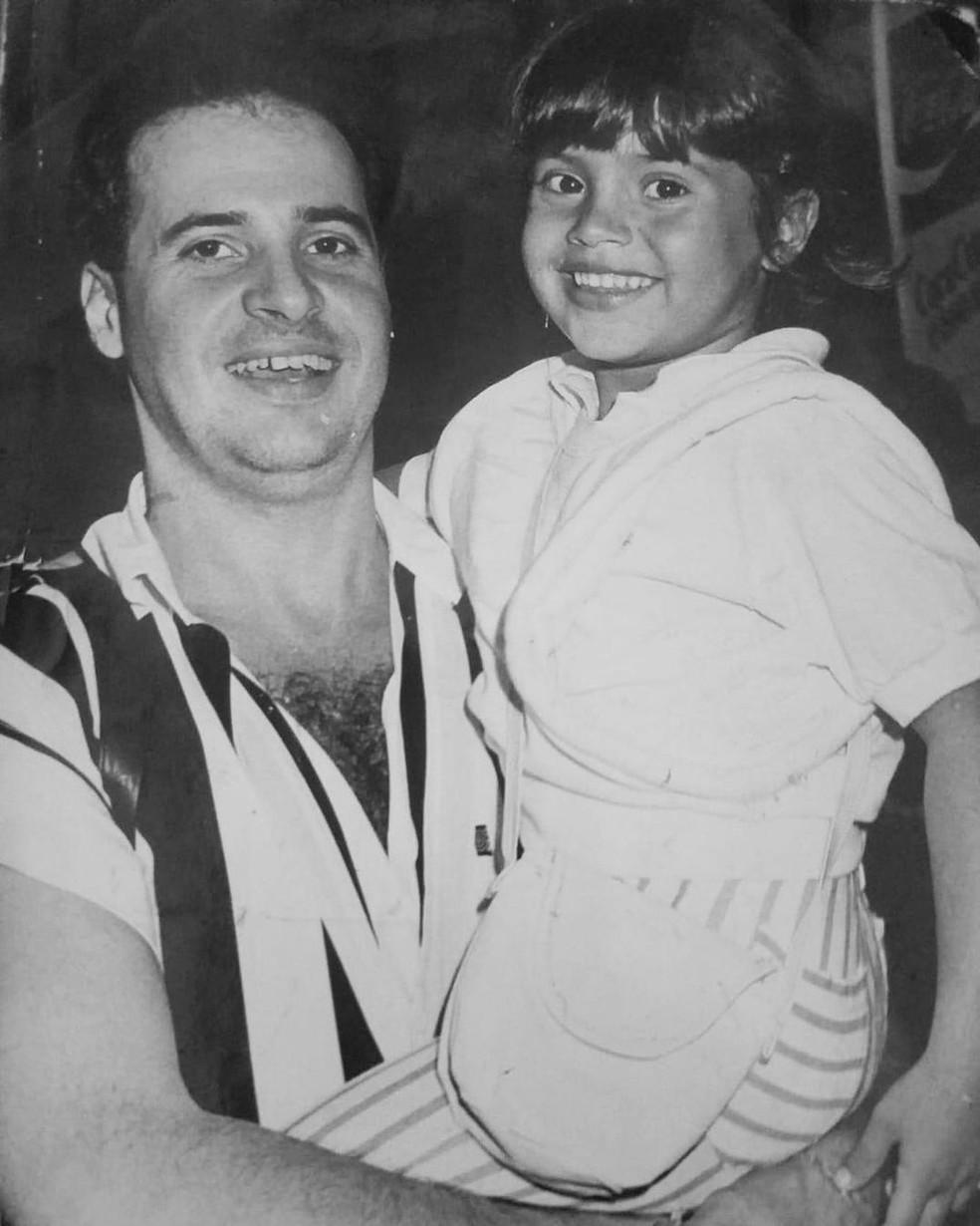 Filha de Paulinho, do Roupa Nova, faz homenagem ao pai: 'Meu amor por toda eternidade' — Foto: Reprodução/Instagram